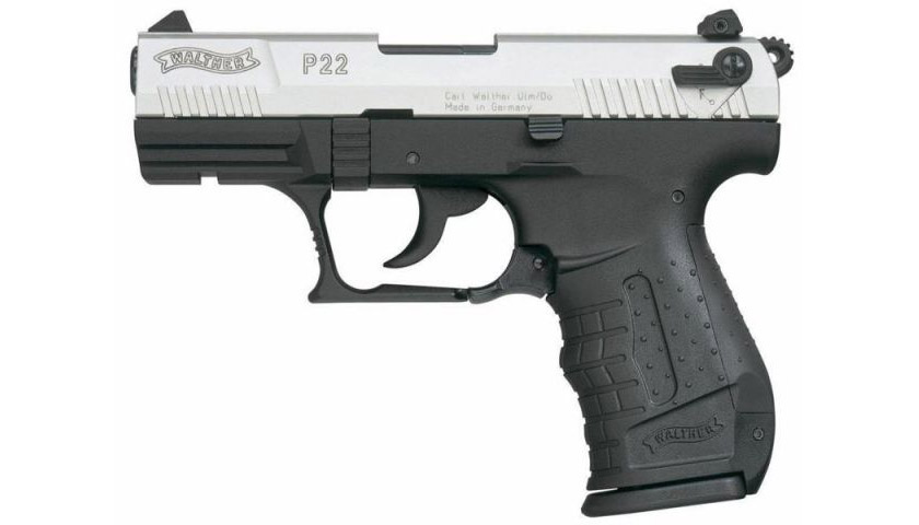 Umarex Walther P22 bicolor Gas - Pistole cal. 9mm