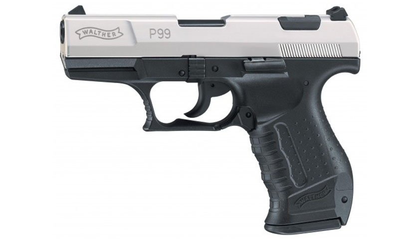 Umarex Walther P99 bicolor Gas - Pistole cal.9mm