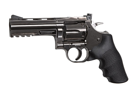 "CO2 Revolver Dan Wesson 715 4"" grey"