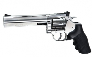 "CO2 Revolver Dan Wesson 715 6"" silver"