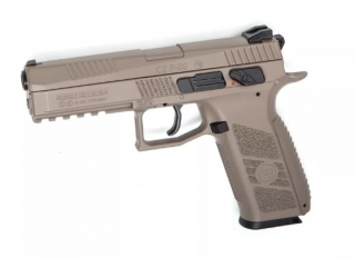 CZ-75 P-09 Duty Blow Back FDE 4,5mm Diabolokugeln