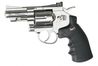 "Co2 Revolver Dan Wesson 2,5"" 4,5 mm Stahl BB Silber"