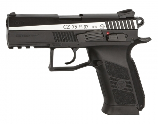 CZ 75 P-07 Duty Dual Tone 4,5 mm Stahl BB Co2-Pistole Blow Back